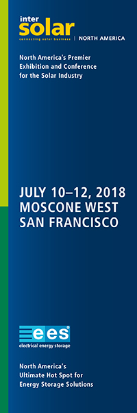 Intersolar / ees North America | July 11-13, San Fransisco, CA