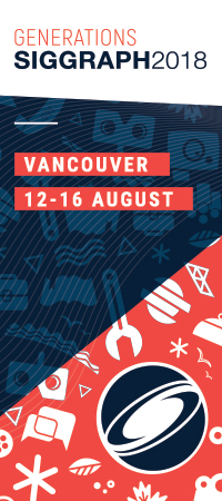 SIGGRAPH, 12-16 August | Vancouver