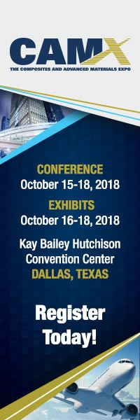 CAMX 2018 | October 15-18, 2018 | Dallas, Texas