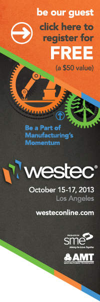 WESTEC | October 15-17, 2013 | Los Angeles, CA